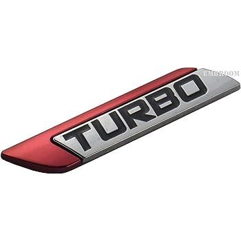 Metal Chrome Black Sport Car Trunk Rear Fender Door Emblem Badge Decal Sticker