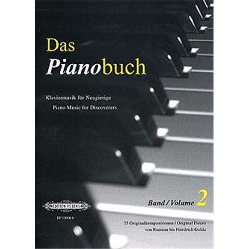 '' Edition Peters–Das Pianobuch Volume 2, Partitionen für Klavier, für Anfänger [Deutscher Sprache]