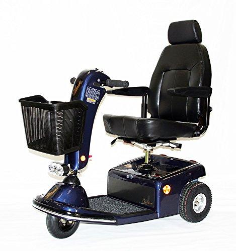 Shoprider Sunrunner 3 Wheel Scooter, Blue