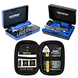MusicNomad KEEP IT SIMPLE, SETUP (KISS) Starter Kit Bundle MN609-6 pc. Gauge Set, 26 pc. Guitar Tech Tool Set, 11 pc. Truss Rod Wrench Set