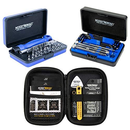 MusicNomad KEEP IT SIMPLE, SETUP (KISS) Starter Kit Bundle MN609-6 pc. Gauge Set, 26...