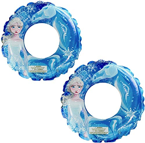 Disney Frozen 2 Pool Float – Pool Rings for Kids, Inflatable Pool Float for Summer Parties and Gift, Water Fun Pack of 2