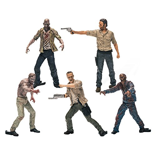 McFarlane - The Walking Dead Building Sets Pack 5 Figurines, 787926145212