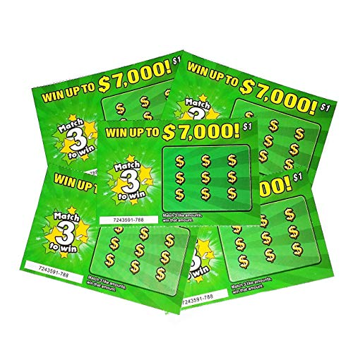 Product Image of the 5 Pregnancy Announcement Scratch Off Cards - Fake Lottery Scratchers - New Baby...