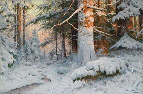 Klassieke Puzzel, Volwassen puzzel sneeuw Forest Tree Woods Path Nature 1000 Stuks houten puzzels Speelgoed for thuiskantoor wanddecoratie Gift Stevig en gemakkelijk