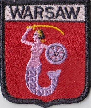 1000 Flags Warschau Polen Flagge, bestickt