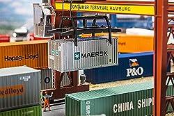 Faller FA 180820 - 20 Container Maersk, Zubehör für die Modelleisenbahn, Modellbau