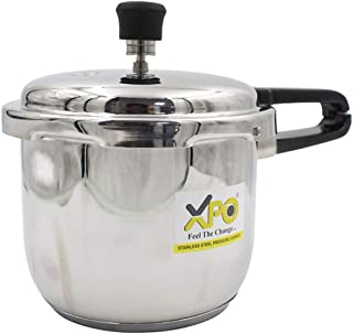 XPO Pressure Cooker   Food Grade Stainless Steel   Energy Efficient   5 Years Warranty (3L)