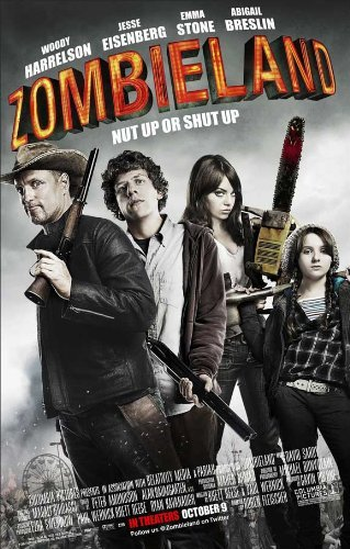 Zombieland Poster Movie B 11x17 Amber Heard Emma Stone Bill Murray Abigail Breslin MasterPoster Print, 11x17 by Poster Discount