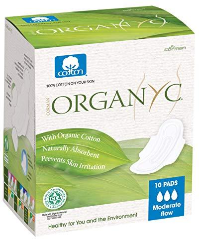Organyc 100% Certified Organic Cotton Feminine Pads