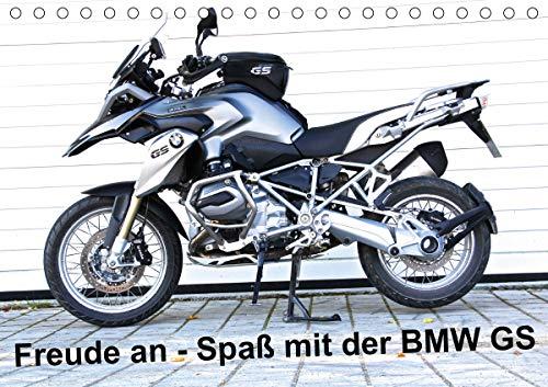 Freude an - Spaß mit der BMW GS (Tischkalender 2021 DIN A5 quer)