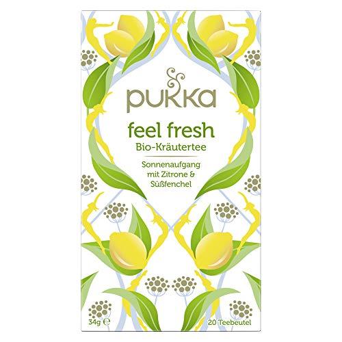 Pukka Feel Fresh, Bio-Kräutertee (20 Teebeutel), 34 g