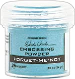 Ranger WEP48039 Wendy Vecchi Embossing Powder .63oz-Forget-Me-Not