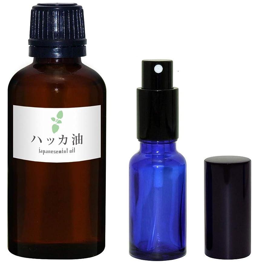 好き生命体ガイドラインガレージ?ゼロ ハッカ油 50ml(GZAK15)+ガラス瓶 スプレーボトル20ml/和種薄荷/ジャパニーズミント GSE535