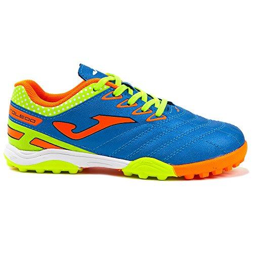 Joma - Zapato calcetín niño Turf Toledo Azul Size: 28 EU