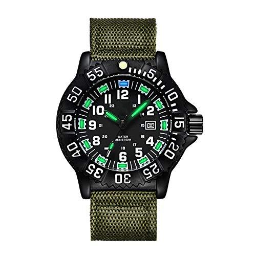 TUOFEIS Relojes, Relojes De Moda, Relojes Deportivos, Relojes Impermeables Al Aire Libre, Relojes (Color : Negro)