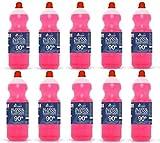 Alcopro Alcool etilico denaturato 90° - 10 flaconi da 1 litro