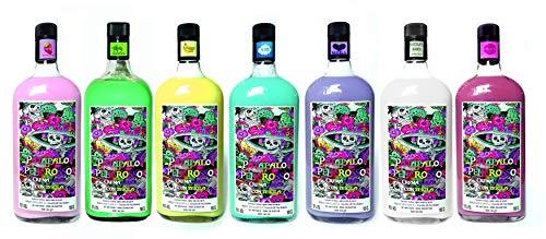 Patapalo Peligrosso Cremas con Tequila SIN LACTOSA- CAJA COMBINADA 6 SABORES FRESA-NUBE-PLATANO-CHOCO BLANCO-MOJITO-MORA- Botella 1L