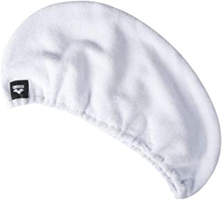 ARENA Turbante Hair Drying Turban Pale Toalla, Unisex Adulto, White, Talla Única