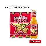 SANBITTÈR Emozioni Zenzero, Aperitivo Analcolico 20cl x 3...