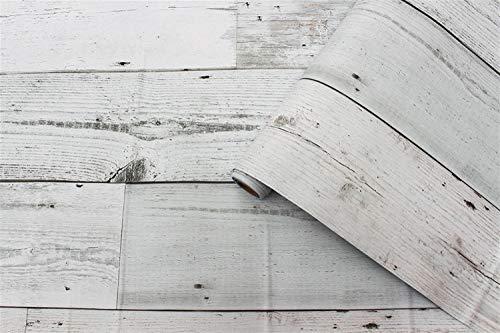 Behang Behang 3d Regenjas Vintage Houten Paneel Behang voor muren ego lijm Contact paper Hotel Bibliotheek Slaapkamer Woonkamer behang pasta 0.45x6m E