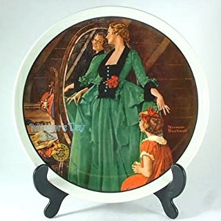 Knowles Grandma's Courting Dress Norman Rockwell plate - Mothers Day series - Year 1984 - CP1241 by Knowles