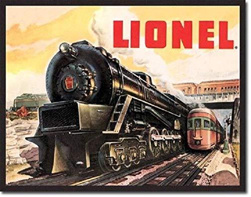 SRongmao Lionel Train 5200 Railroad Retro Vintage Look Ad Poster Wall Art Decor Metal Tin Sign 8x12in