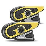 S SMAUTOP Interfono per moto,Auricolare Bluetooth, Supporto per interfono...
