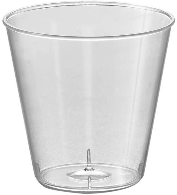 Kaya Year-end annual account Plastic Shot Glasses - 1 Pcs. Round Max 81% OFF Clear oz. 50