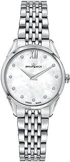 Philip Watch - Reloj Mujer, Colección Roma, de Acero Inoxidable, Diamantes - R8253217501
