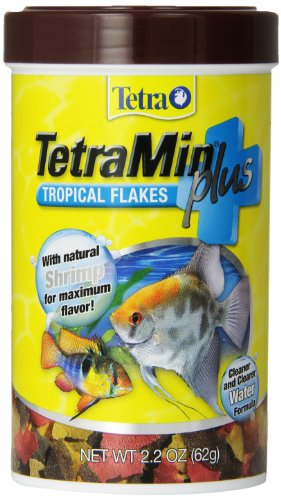 TetraMin Plus Tropical Flakes, Cleaner and Clearer Water Formula