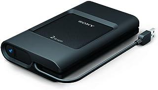 索尼 PSZ-HC1T//C 1TB 加固型外部硬盘连接 USB 3.0 数据线和 USB C 端口PSZ-HC2T//C 2TB