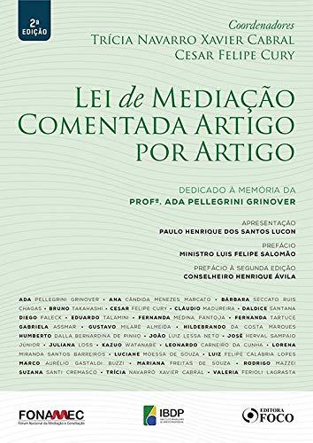 LEI DE MEDIAÇÃO COMENTADA ARTIGO POR ARTIGO