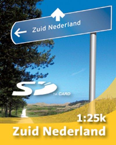 Satmap kaart 1:25000 Nederland voor GPS satellietnavigatiesysteem Active 10