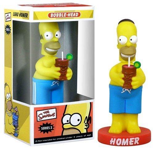Simpsons Tiki Homer 15cm Wackelkopf-Figur