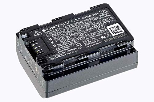 Sony SEL-1224G G Ultra-Weitwinkel-Zoom Objektiv (12-24 mm, F4, OSS, Vollformat, E-Mount) schwarz & NP-FZ100 Akku (InfoLITHIUM-Akku Z-Serie, 7,2V/16,4Wh (2280 mAh)) schwarz