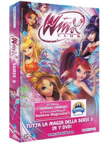 winx club - season 05 (6 dvd) box set dvd Italian Import by animazione