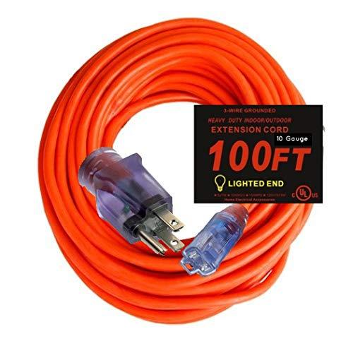 10 gauge extension cord 100 ft - 6