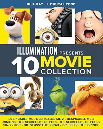 Illumination Presents: 10-Movie Collection Blu-ray + Digital - Blu-ray