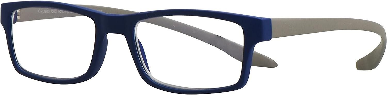 Forever – Gafas para Ordenador Anti Luz Azul – Gafas de Lectura – 3 EN 1 - Anti-Caída