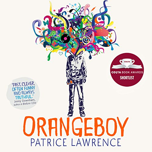 Orangeboy audiobook cover art
