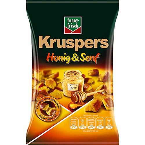 funny frisch Kruspers Honig & Senf, 5er Pack (5 x 120g)