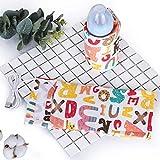 szkn USB-Milchwärmer, isolierte Tasche, tragbarer Reisebecherwärmer für Babyflaschen Einheitsgröße Englisch Alphabet
