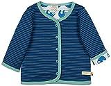 loud + proud Reversible Jacket Organic Cotton Chaqueta, Azul (Ultramarine Ul),...