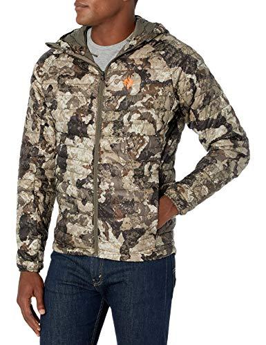 Nomad Men's Duodown Ultra-Light, Packable, Water Repellent Performance Jacket, Veil Cervidae, X-Large