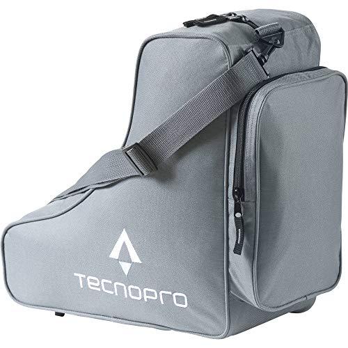 TECNOPRO Schlittschuhtasche Classic Tasche, Grau/Weiß/Blau, One Size