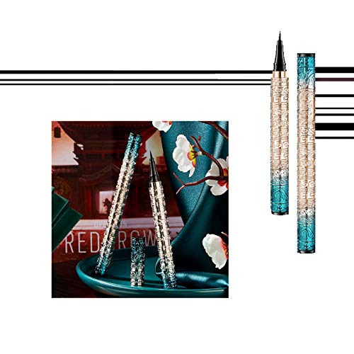 Eyeliner Waterproof YINGEE, Eyeliner Penna Liquido Impermeabile, Matita Per Eyeliner a Prova di Sbavature e Lunga Durata Nera