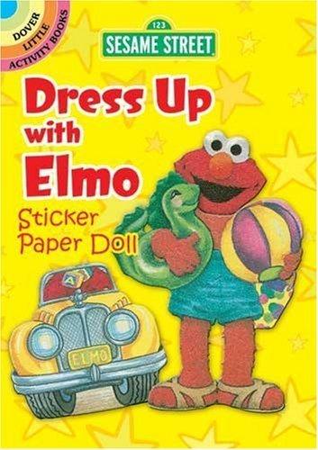 Sesame Street Classic Dress Up with Elmo Sticker Paper Doll (Sesame Street Paper Doll) by Sesame Street (2010-01-14)