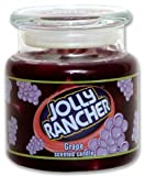 Jolly Rancher by Hanna's Candle 14.75-Ounce Jolly Rancher Grape Jar Candle