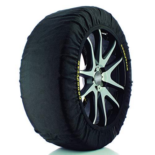 Goodyear 10643 Schneekette Textil Schneesocken Textil-Schneeketten Auto Socks Autosocken mit Ö-Norm V5121, Größe L